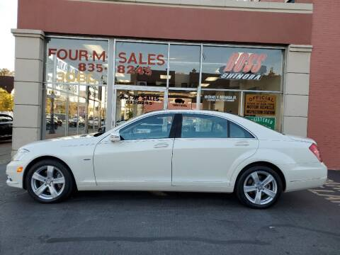 2012 Mercedes-Benz S-Class for sale at FOUR M SALES in Buffalo NY