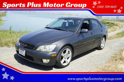 2003 Lexus IS 300 for sale at Sports Plus Motor Group LLC in Sunnyvale CA