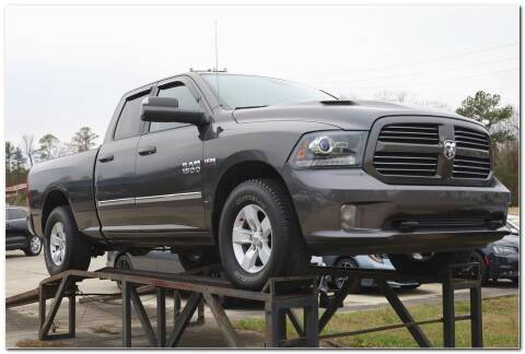 2016 RAM Ram Pickup 1500 for sale at STRICKLAND AUTO GROUP INC in Ahoskie NC