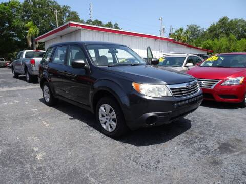 2010 Subaru Forester for sale at DONNY MILLS AUTO SALES in Largo FL
