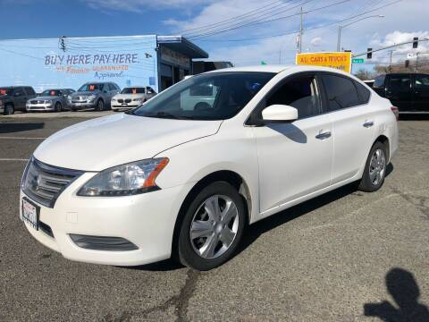 2014 Nissan Sentra for sale at All Cars & Trucks in North Highlands CA