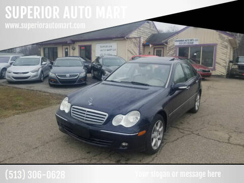 2007 Mercedes-Benz C-Class for sale at SUPERIOR AUTO MART in Amelia OH