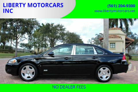 2008 Chevrolet Impala for sale at LIBERTY MOTORCARS INC in Royal Palm Beach FL
