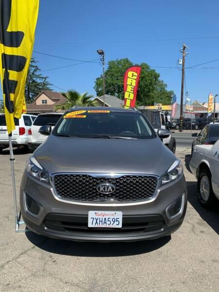 2016 Kia Sorento for sale at Victory Auto Sales in Stockton CA