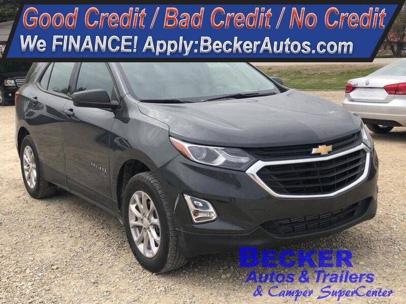 2018 Chevrolet Equinox for sale at Becker Autos & Trailers in Beloit KS