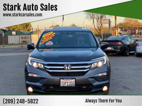 2016 Honda Pilot for sale at Stark Auto Sales in Modesto CA