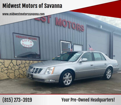 2006 Cadillac DTS for sale at Midwest Motors of Savanna in Savanna IL
