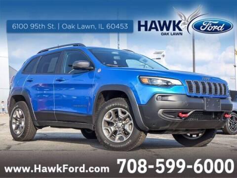 2019 Jeep Cherokee for sale at Hawk Ford of Oak Lawn in Oak Lawn IL