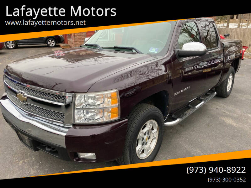 2008 Chevrolet Silverado 1500 for sale at Lafayette Motors in Lafayette NJ