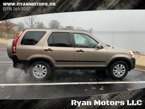 2006 Honda CR-V for sale at Ryan Motors LLC in Warsaw IN