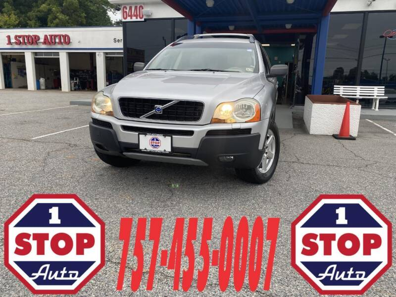2004 Volvo XC90 for sale at 1 Stop Auto in Norfolk VA