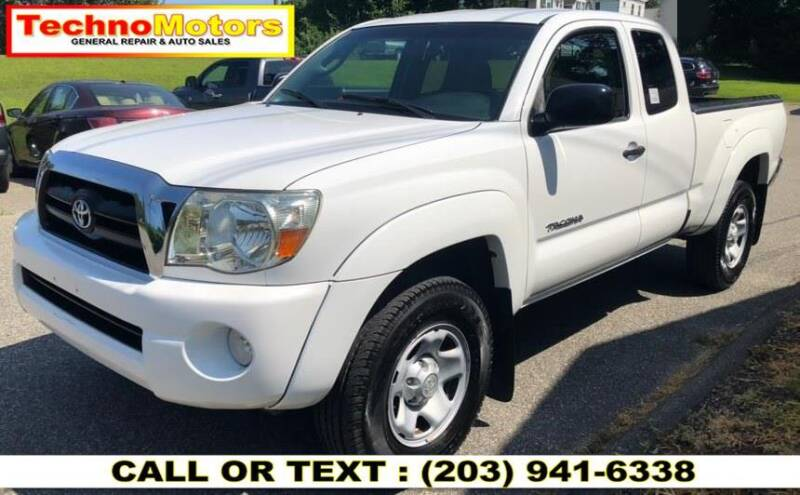 2008 Toyota Tacoma for sale at Techno Motors in Danbury CT