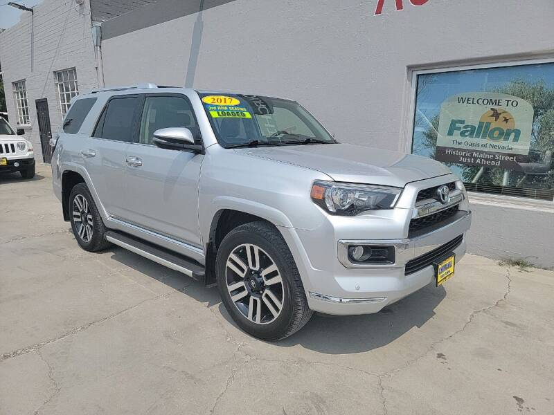 2017 Toyota 4Runner for sale at CHURCHILL AUTO SALES in Fallon NV