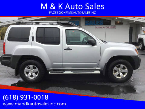 2010 Nissan Xterra for sale at M & K Auto Sales in Granite City IL