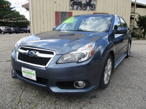 2013 Subaru Legacy for sale at Roland's Motor Sales in Alfred ME