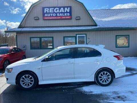 2011 Mitsubishi Lancer Sportback for sale at Mark Regan Auto Sales in Oswego NY