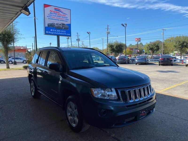 2015 Jeep Compass for sale at Magic Auto Sales - Cash Cars in Dallas TX