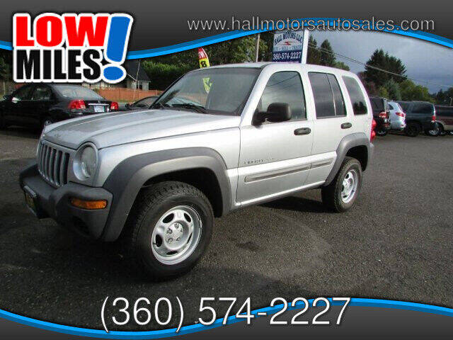 2002 Jeep Liberty for sale at Hall Motors LLC in Vancouver WA
