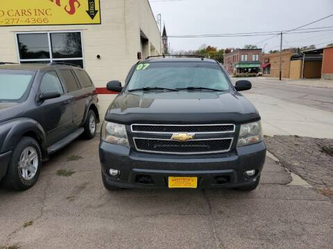2007 Chevrolet Tahoe for sale at Brothers Used Cars Inc in Sioux City IA