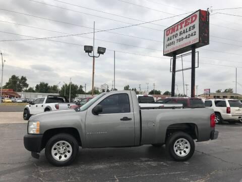 2009 Chevrolet Silverado 1500 for sale at United Auto Sales in Oklahoma City OK