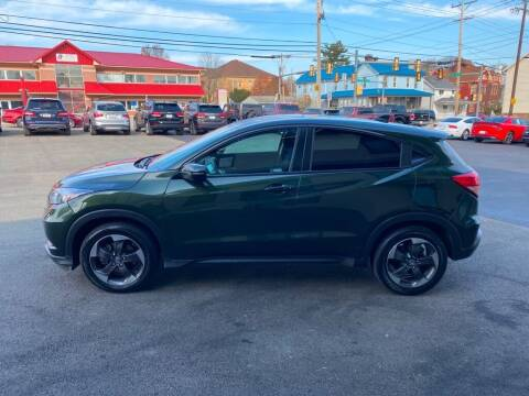 2018 Honda HR-V for sale at Sisson Pre-Owned in Uniontown PA