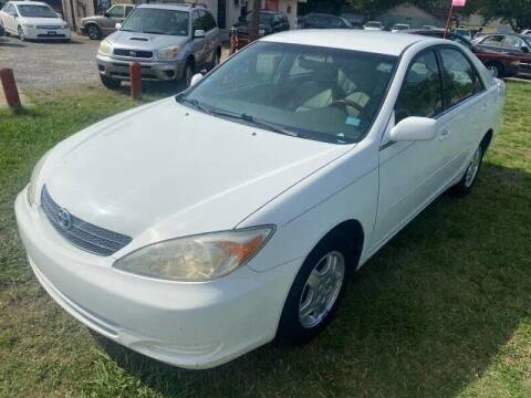 2002 Toyota Camry for sale at Cash Car Outlet in Mckinney TX