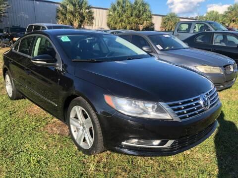 2014 Volkswagen CC for sale at Top Garage Commercial LLC in Ocoee FL