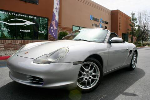 2003 Porsche Boxster for sale at CK Motors in Murrieta CA