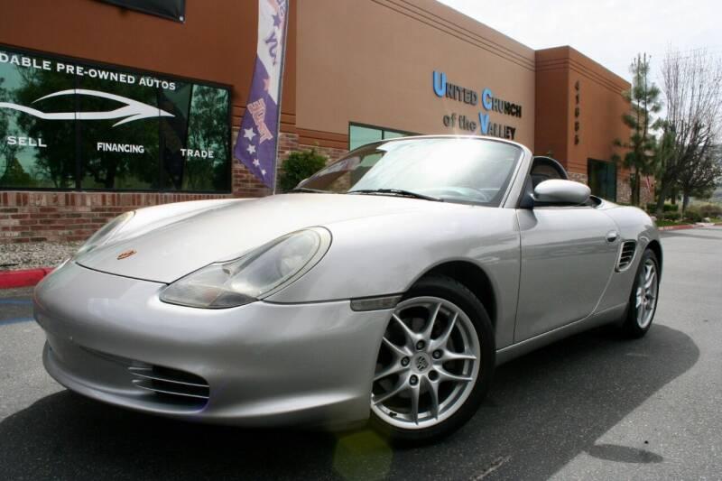2003 Porsche Boxster for sale at CK Motors in Murrieta CA