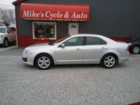 2012 Ford Fusion for sale at MIKE'S CYCLE & AUTO - Mikes Cycle and Auto (Liberty) in Liberty IN