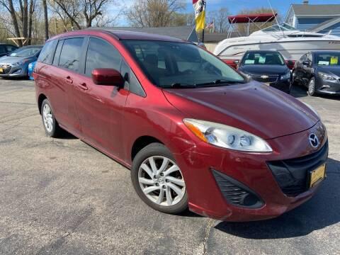 2012 Mazda MAZDA5 for sale at COMPTON MOTORS LLC in Sturtevant WI