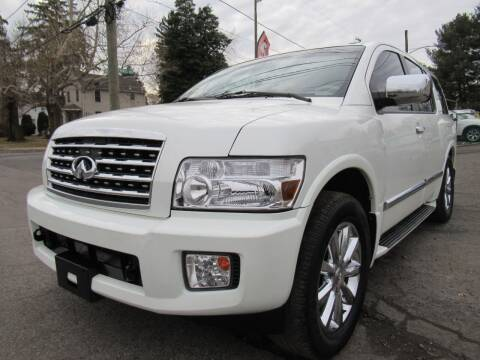 2008 Infiniti QX56 for sale at PRESTIGE IMPORT AUTO SALES in Morrisville PA