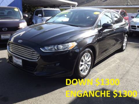2014 Ford Fusion for sale at PACIFICO AUTO SALES in Santa Ana CA
