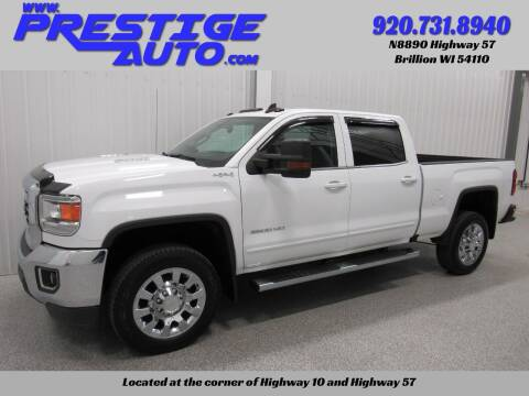 2016 GMC Sierra 2500HD for sale at Prestige Auto Sales in Brillion WI