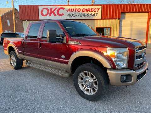 2013 Ford F-250 Super Duty for sale at OKC Auto Direct in Oklahoma City OK