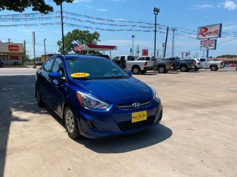 2016 Hyundai Accent for sale at Russell Smith Auto in Fort Worth TX