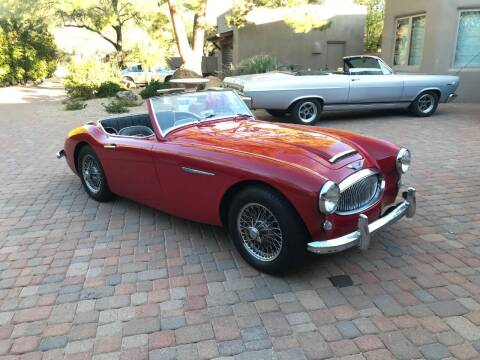 1961 Austin-Healey 3000 MKll BT7 3-Carb for sale at Enthusiast Motorcars of Texas in Rowlett TX