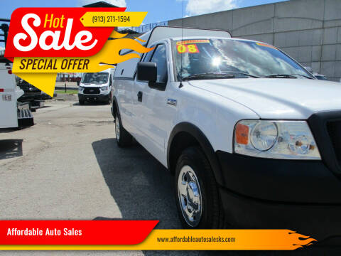 2008 Ford F-150 for sale at Affordable Auto Sales in Olathe KS