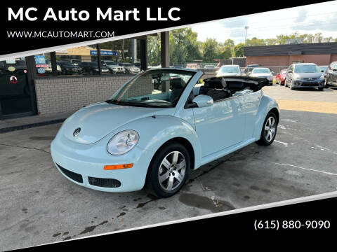 2006 Volkswagen New Beetle Convertible for sale at MC Auto Mart LLC in Hermitage TN