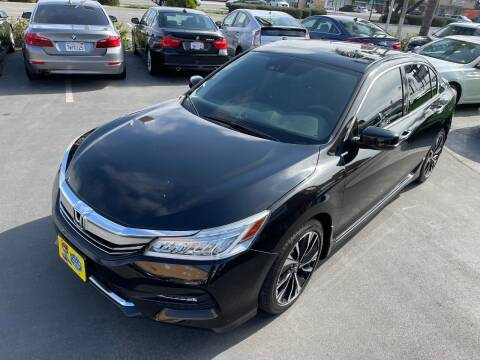 2017 Honda Accord for sale at CARSTER in Huntington Beach CA