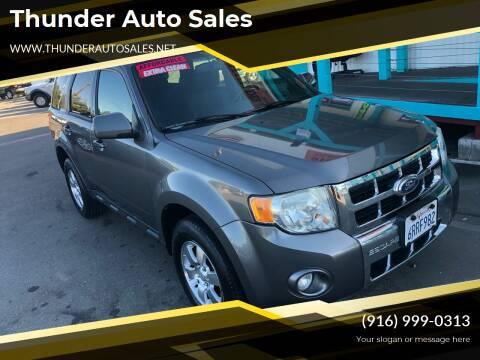 2011 Ford Escape for sale at Thunder Auto Sales in Sacramento CA