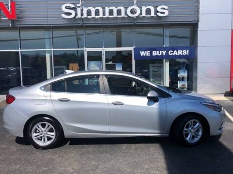 2018 Chevrolet Cruze for sale at SIMMONS NISSAN INC in Mount Airy NC