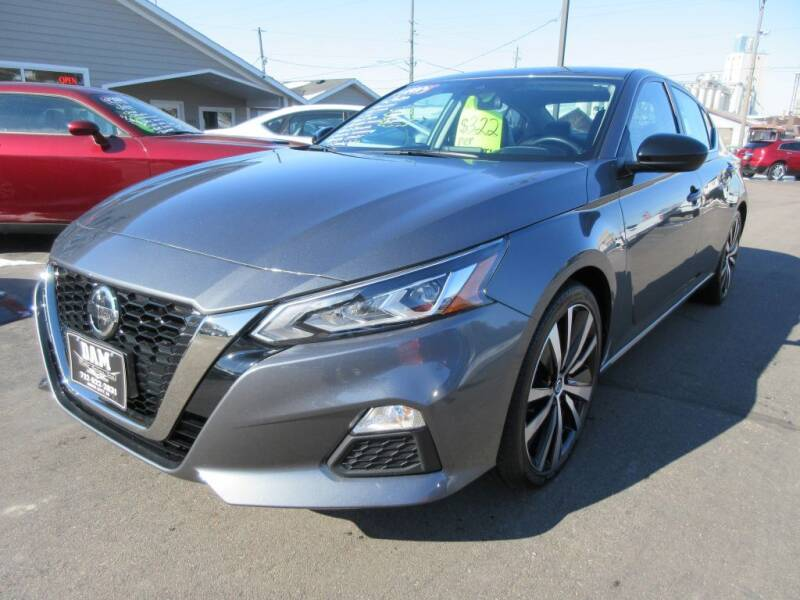 2020 Nissan Altima for sale at Dam Auto Sales in Sioux City IA