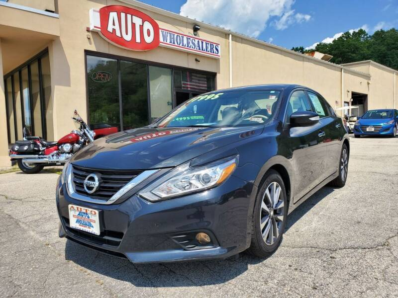 2017 Nissan Altima for sale at Auto Wholesalers Of Hooksett in Hooksett NH