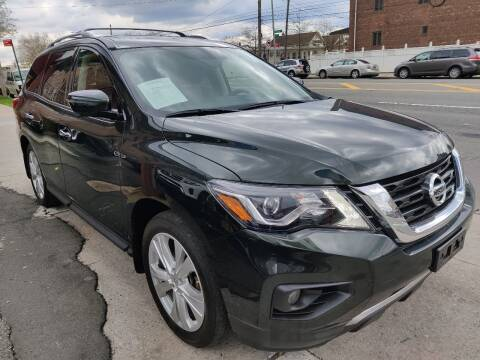 2018 Nissan Pathfinder for sale at LIBERTY AUTOLAND INC in Jamaica NY
