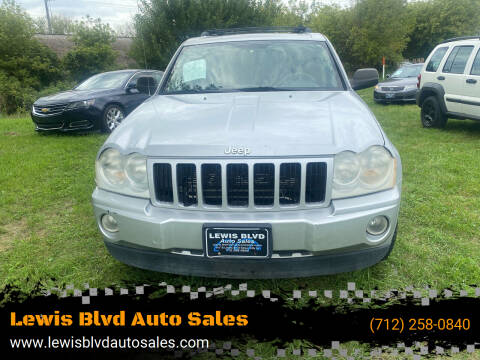 2007 Jeep Grand Cherokee for sale at Lewis Blvd Auto Sales in Sioux City IA