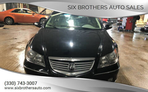 2005 Acura RL for sale at Six Brothers Auto Sales in Youngstown OH