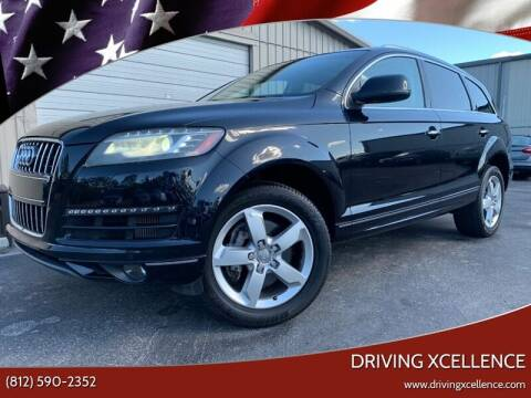 2012 Audi Q7 for sale at Driving Xcellence in Jeffersonville IN