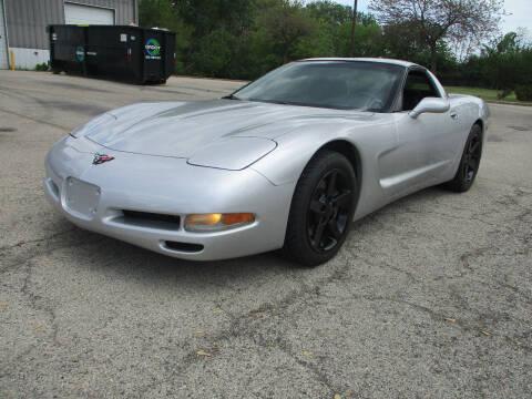 2002 Chevrolet Corvette for sale at Triangle Auto Sales in Elgin IL