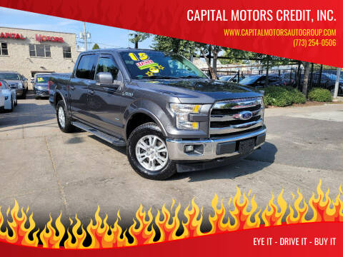 2015 Ford F-150 for sale at Capital Motors Credit, Inc. in Chicago IL